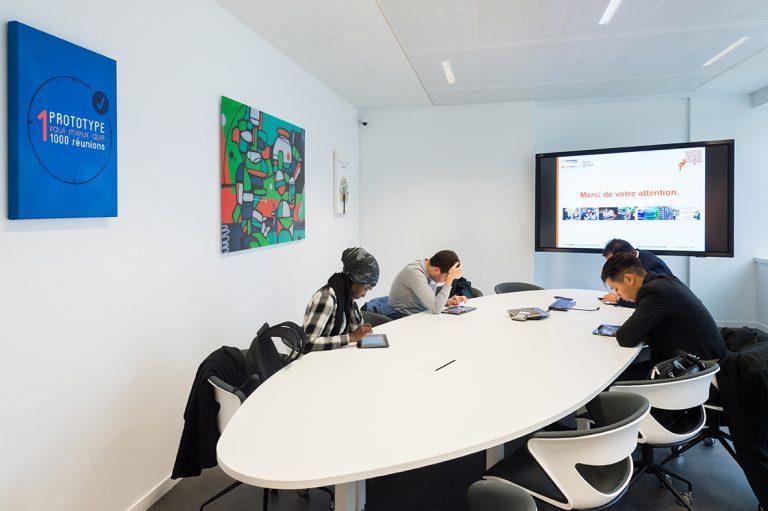 Salle de réunion Webitech